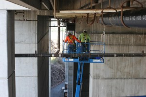 ASU Tempe Stadium Waste Pipe Repair